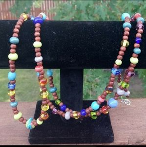 5/$25   Handmade colorful necklace